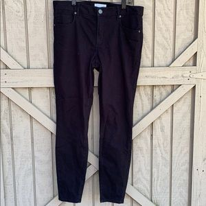 Black jeans 12 soft Ann Taylor made with love